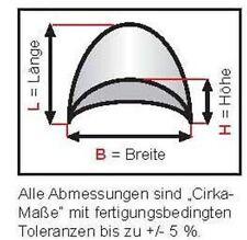Schulterpolster KH 2 Halbmond