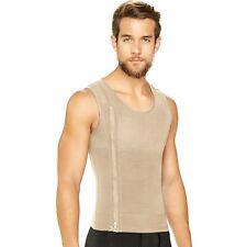 Fajas Colombianas Diane & Geordi 2415 Men's Tummy Control Vest With Zipper
