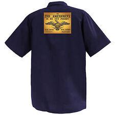 My Gun Permit - Mechanics Graphic Work Shirt  Short Sleeve