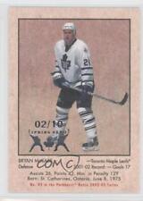 2002-03 Parkhurst Retro Toronto Fall Expo Base #83 Bryan McCabe Maple Leafs Card