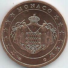 Monaco 1 Cent Kursmünze (2001 - 2005 PP), unzirkuliert/bankfrisch