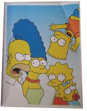 "SIMPSONS FOX TV SHOW MINI POSTER 2007 14""X10 1/2"" FAMILY BART UPSIDE DOWN"