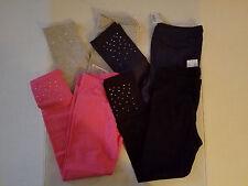 Children's Place Girls Legging Size S M  L XL Black Gray Pink Blue Sparkle