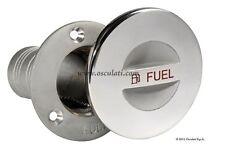 "Stainless Steel FUEL deck filler 2"" / 50mm Petrol Screw Cap DFSCSSF50"