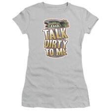 SESAME STREET TALK DIRTY TO ME OSCAR THE GROUCH Women's Junior Tee Shirt SM-2XL