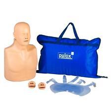 Pulox Reanimationspuppe Erste Hilfe Trainings Puppe Defibrilator Übungspuppe