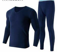 Long Johns Second Thermal Skin Vetement Lycra Underwear Winter Cotton Spandex