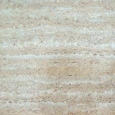 "TRAVERTINE marble STONE self STICK adhesive VINYL floor TILES - 100 pcs 12""x12"""