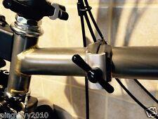 J&L Titanium Axle Hinge Clamping Lever fit Brompton folding bike-24g only