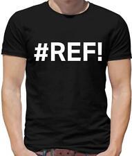 #Ref Mens T-Shirt - Excel - Nerd - Geek - Computer - Hash - Hashtag
