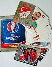 Panini Sticker UEFA EURO 2016 EM Team Türkei/Türkiye NR.349,350, 405-430 AUSWAHL