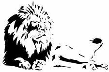 BEAUTIFUL Lion Africa Safari Zoo Animal Kid Wall Art Decor Vinyl Decal Sticker