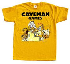 CAVEMAN GAMES Nintendo Famicom NES Game T-shirt S-5XL YELLOW