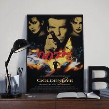 James Bond 007 Goldeneye Cinema Movie Film Poster Print Picture A3 A4