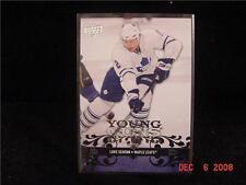 08 09 UD NHL Young Guns 248 Luke SCHENN RC Rookie Leafs