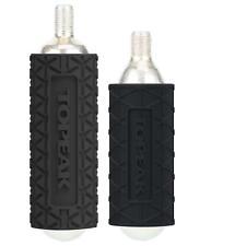 Topeak 2 silicona protección fundas co2 cartuchos bicicleta bomba de aire micro air Booster