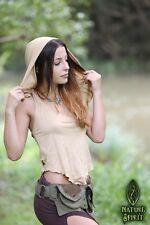 Pointy Pixie Top with Hood, Fairy Festival Elven Rave Psytrance Goa Burning Man