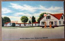 Walsenburg Co~ 1940's Norton'S Camp ~ Gas Station