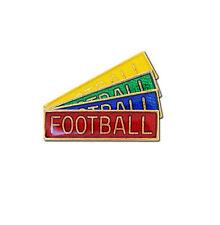 Small Football Bar School Badge