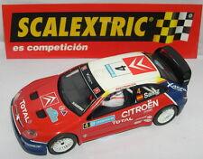 SCALEXTRIC CITROËN XSARA WRC #4 SAINZ TRAC.TRASERA UNIQUEMENT DANS