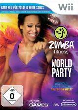 Nintendo Wii Spiel - Zumba Fitness: World Party (DE/EN) (mit OVP)