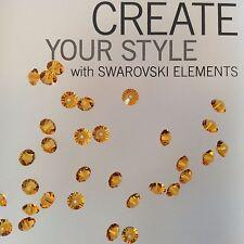 Swarovski® Crystal #5305 Spacer Beads - Sizes 5mm & 6mm - Choose Color 12 PC. PK