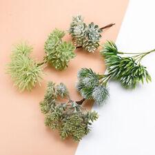 DIY Artificial Plastic Flowers Fake Grass Plants For Wedding Home Decor