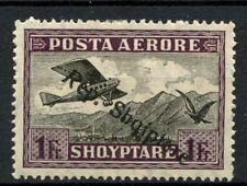Albania 1927 SG#208 1f Air Optd MH #A30876
