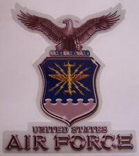 "Bumper Window 3M Reflective Sticker Decal U S Air Force Logo NEW choose 2"" 4"" 6"""