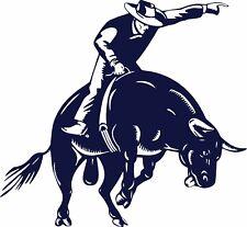 Bull Riding Rodeo Cowboy Sports PBR Car Truck Window Laptop Vinyl Decal Sticker