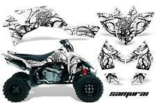 SUZUKI LT-R 450 LTR450 CREATORX GRAPHICS KIT SAMURAI BW