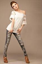 NEW Womens Ladies Blouse Plain Long Sleeve Ladies Top T Shirt Loose Casual Tops