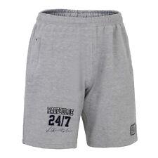 "Raufbolde Streetwear Cotton Shorts 24/7 "" Gray Grey Bodybuilding Fitness"