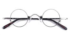 Vintage Steve Jobs eyeglasses frame mens small round glasses RX optical lens