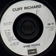 "CLIFF RICHARD some people/one time lover man EM 18 uk emi 1987 7"" WS EX/"