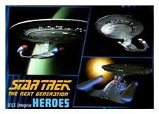 2013 STAR TREK THE NEXT GENERATION HEROES & VILLAINS - PICK CHOOSE YOUR CARDS