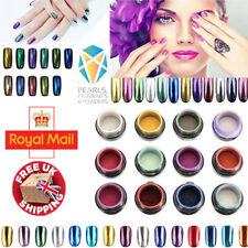 Chrome poudre Pearl Pigment Sirène Effet Nail Art Crystal 75 Colous!!!