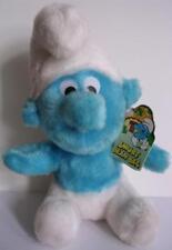 Smurf Plush Toy Bean Bag Adorable Vintage 1980's Tagged Clean & Cute!