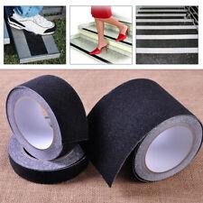 New Black Floor Anti Non Skid Slip Adhesive Grit Sticker Tread Safety Tape Strip