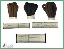 Lacci per Scarpe Tondi Colorati Stringhe Scarponi Anfibi 75 120 160 cm da Uomo
