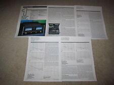 McIntosh MC 7200 Power Amplifier Review, Full Test,1990