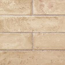 Beige Realistic Brick Wallpaper TE29327