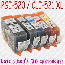 Cartouches d'encre compatibles non OEM Canon Pixma impr. MP540 MP550 MP560 MP620