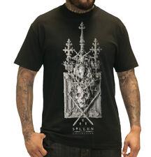 Sullen Shallow Graves Mens Black T Shirt Tattoo Urban Streetwear