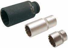Steckschlüsselsatz Einsatz 12kant Nuss 1/2 8-38mm Steckeinsatz lang Doppel 6kant
