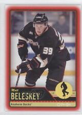 2012-13 O-Pee-Chee Wrapper Redemption Red #426 Matt Beleskey Hockey Card