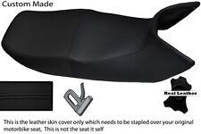 BLACK STITCH CUSTOM FITS HONDA PAN EUROPEAN ST 1100 LEATHER DUAL SEAT COVER