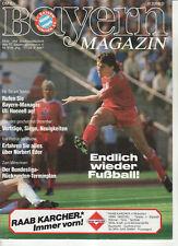 BL 86/87 FC Bayern München - Fortuna Düsseldorf
