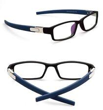 Sport New Eyeglass Frames Optical Eyewear Clear lens Plain computer glasses Rx