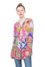 Desigual Bright Rosa Shirt Psychodelic Long-line XS-XXL UK 8-18 RRP �94